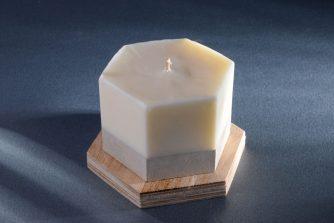 Modernistyczna świeca sojowa